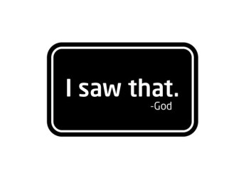 i-saw-that-god-sign-design-600x434