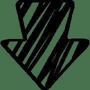 36677-sketched-down-arrow